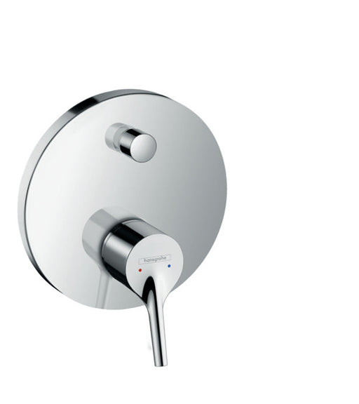 Single lever shower mixer with diverter
