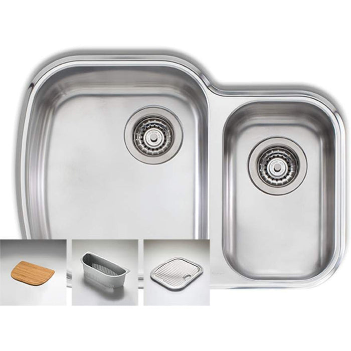 Oliveri Monet 1 & 1/2 Bowl Undermount Sink