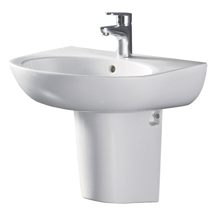 Fienza Stella Care Wall-Hung Basin With Integral Shroud