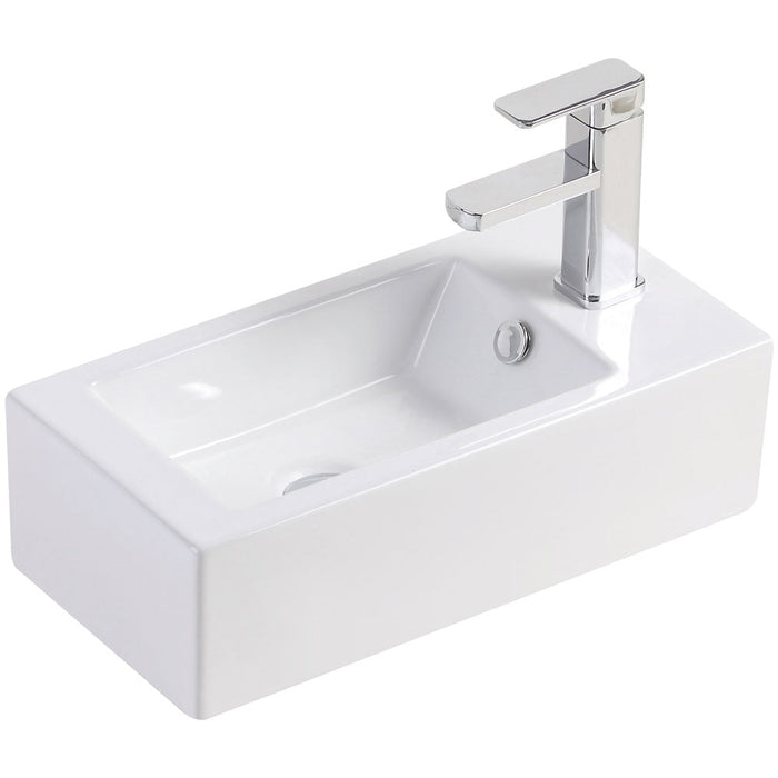 Fienza Linea Right-Hand Wall-Hung Basin