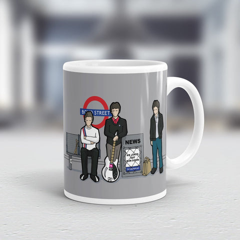 DOWN IN THE TUBE STATION MUG
