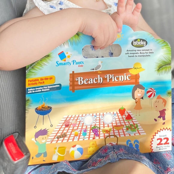 Beach Picnic portable on-the-go activity set