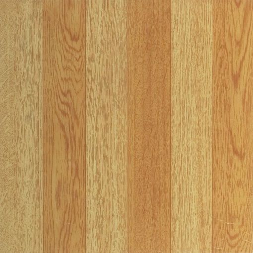 Achim Home Furnishings - Tivoli Light Oak Plank-Look 12x12 Self Adhesive Vinyl Floor Tile - 45 Tiles/45 sq Ft