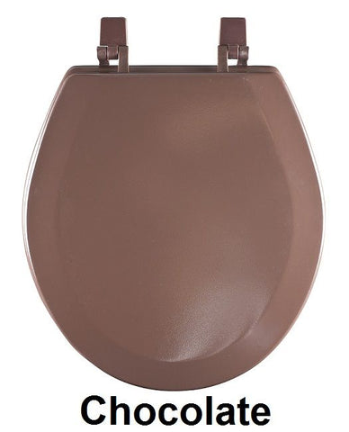 Achim Home Furnishings - Fantasia 17 Inch Standard Wood Toilet Seat