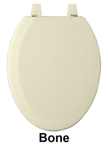 Achim Home Furnishings - Fantasia 19 Inch Elongated Wood Toilet Seat