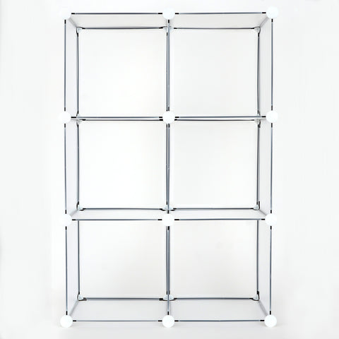 Achim Home Furnishings - 6 Cube DIY Modular Storage Unit