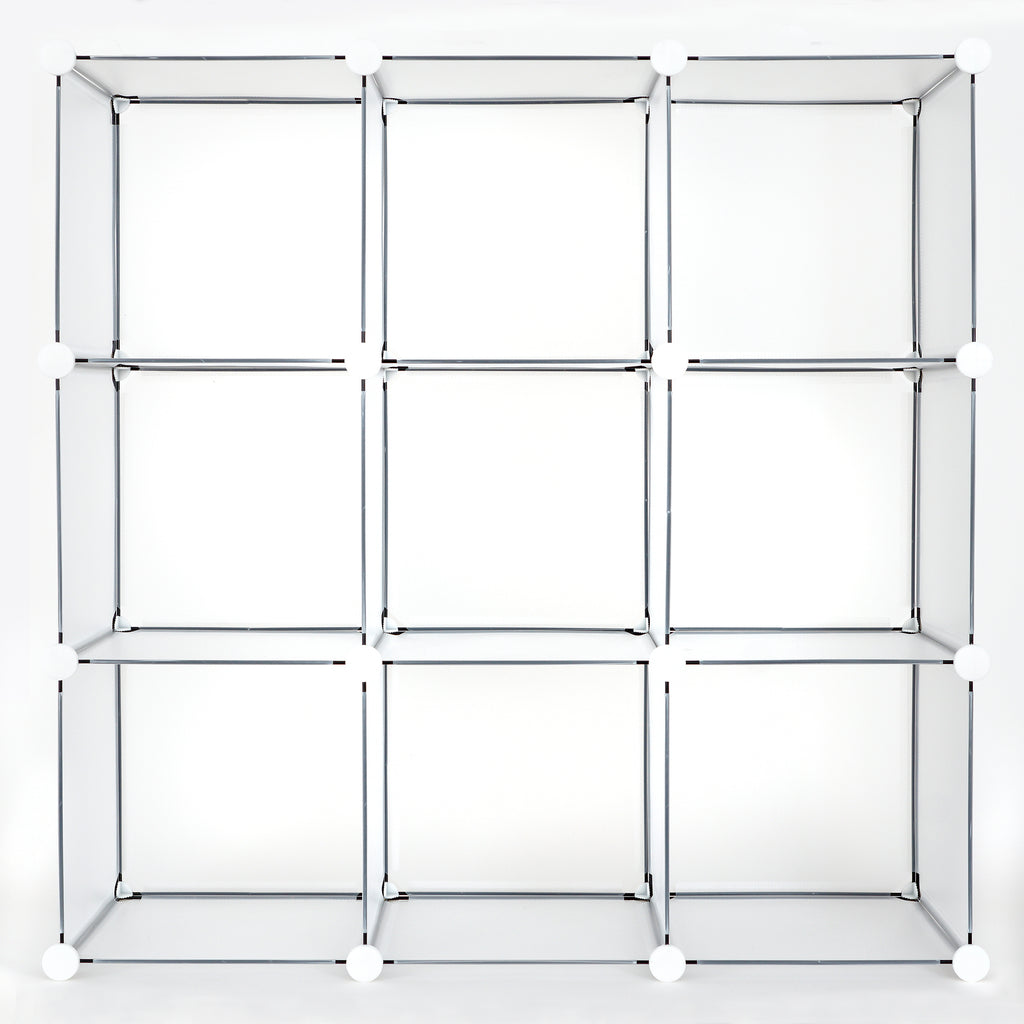 Achim Home Furnishings - 9 Cube DIY Modular Storage Unit