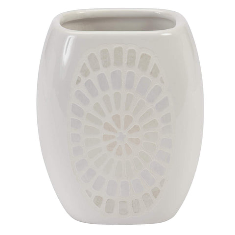 A & E Imports Elegant Bath - Ceramic Bathroom Tumbler, Capri Design