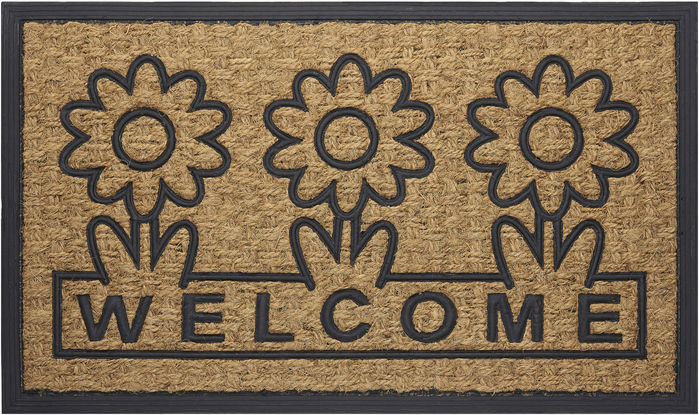 Achim Home Furnishings - Coco Mat 18 x 30 Inches - Daisy