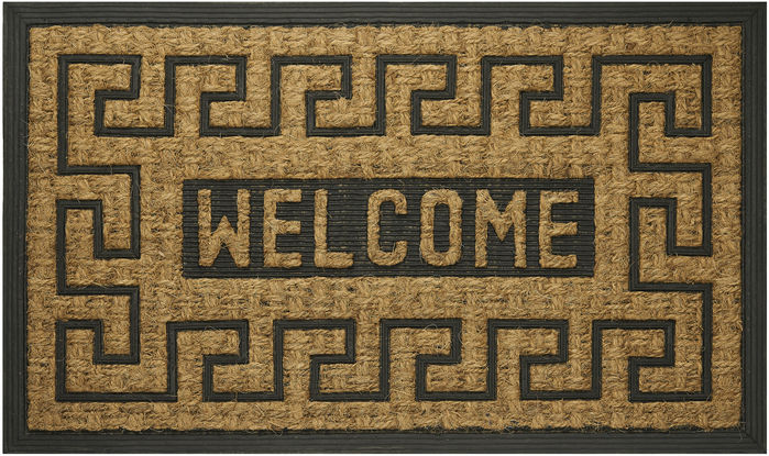 Achim Home Furnishings - Coco Mat 18 x 30 Inches - Welcome Key