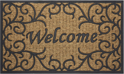 Achim Home Furnishings - Coco Mat 18 x 30 Inches - Vines