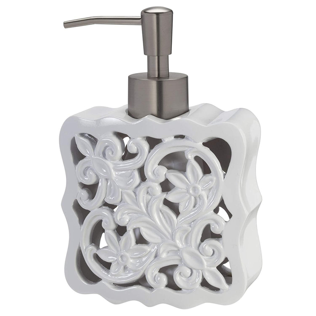Creative Bath Products Belle Lotion Dispenser, Resin