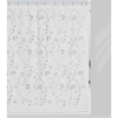 Creative Bath Products Inc. - Eyelet 100% Polyester Durable Shower Curtain