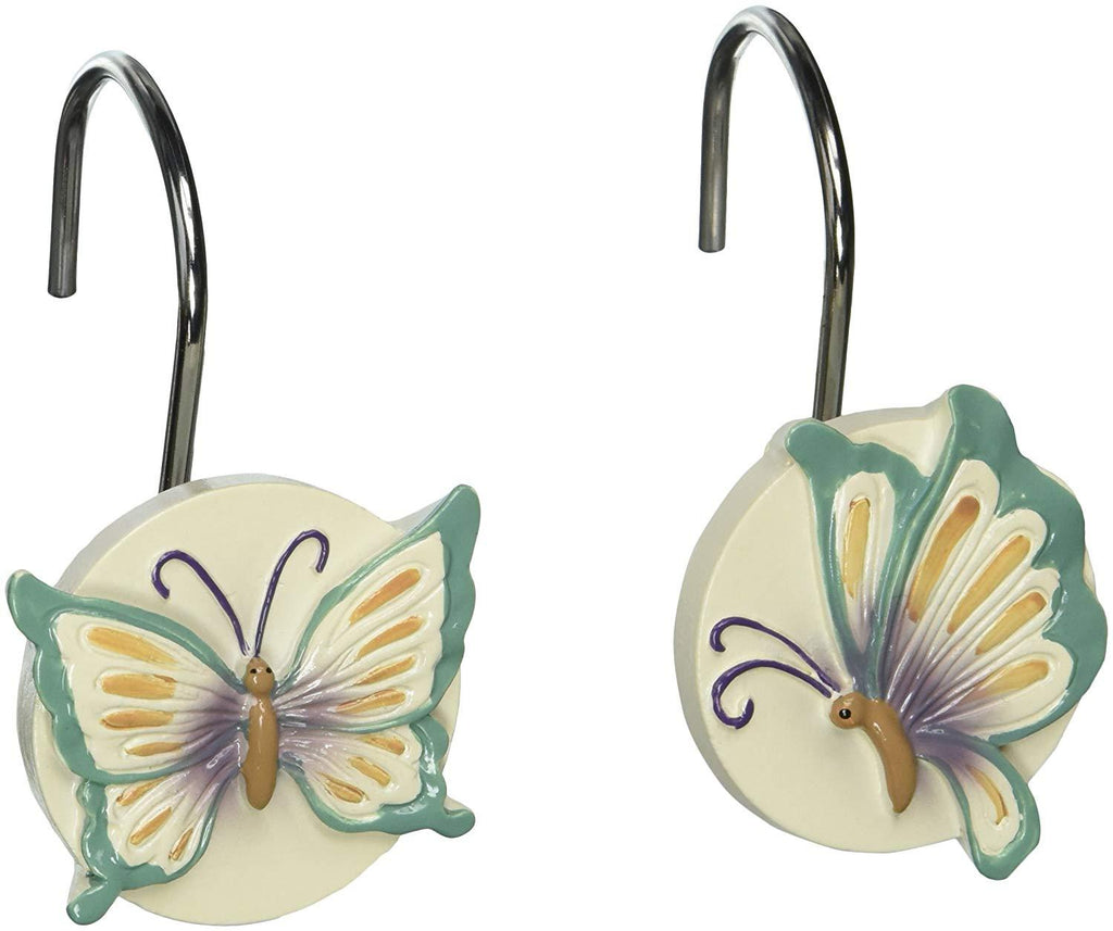 Creative Bath Products Garden Gate Shower Hooks, 12-Pack