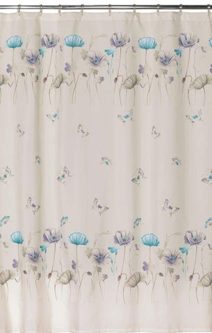Creative Bath Products Inc. - Garden Gate 100% Polyester Shower Curtain, Purple