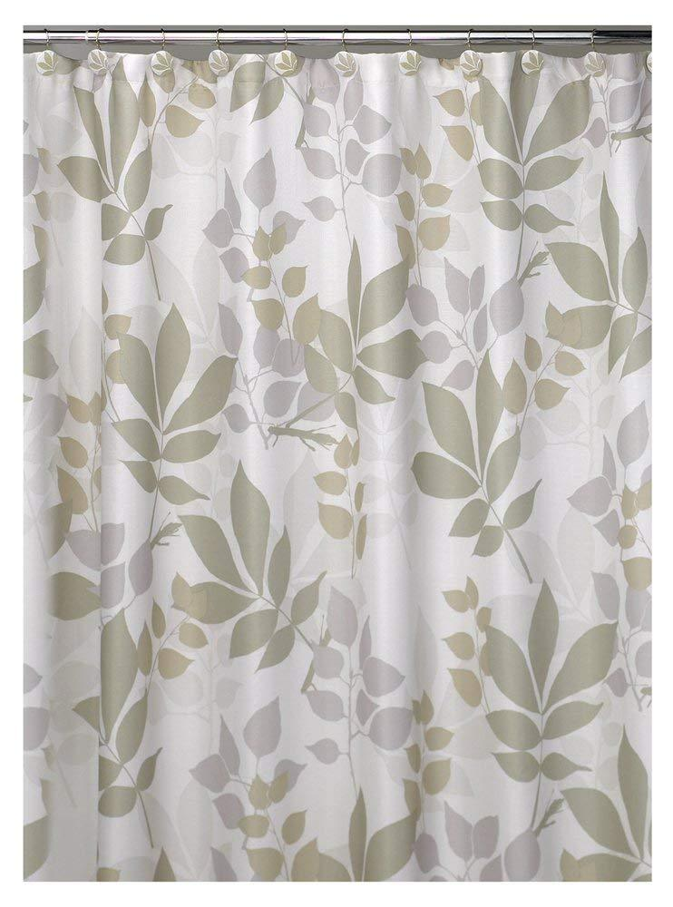 Creative Bath Products Inc. - Shadow leaves 100% Polyester Durable Shower Curtain IMPORTED