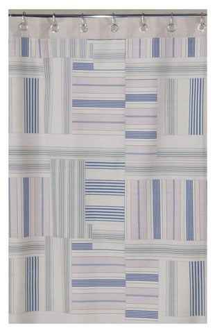Creative Bath Products Inc. - Ticking Stripe Shower Curtain