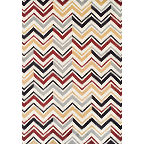 Achim Home Furnishings - Ferrera Collection Area Rug - Chevron