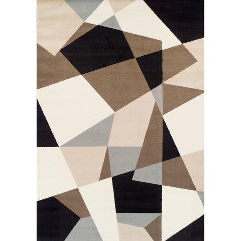 Achim Home Furnishings - Ferrera Collection Area Rug - Geometric