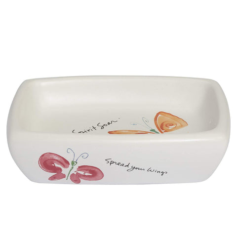 Creative Bath - Stylish Ceramic Soap Dish Kathy Davis Flutterby
