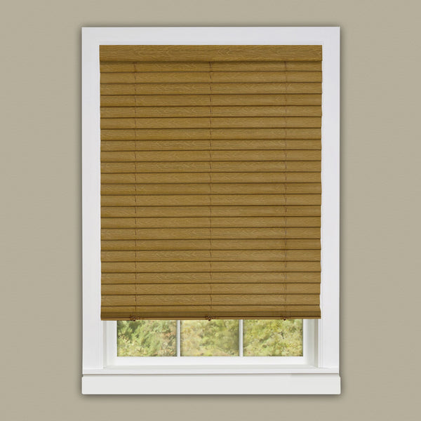 "Cordless Luna 2"" Vinyl Venetian Blind with 2 in. Valance"