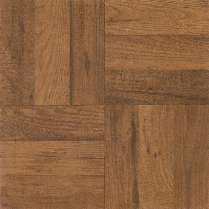 Achim Home Furnishings - Nexus 3 Finger Med. Oak Parquet 12x12 Self Adhesive Vinyl Floor Tile - 20 Tiles/20 sq. ft.