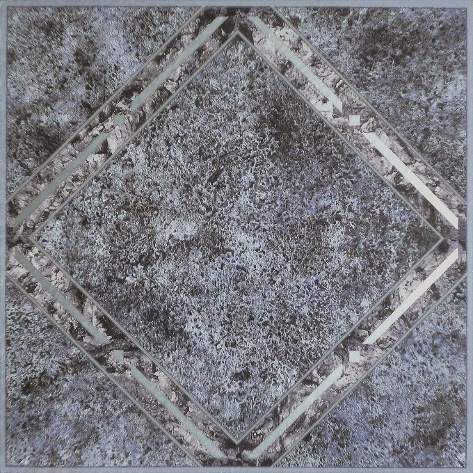 Achim Home Furnishings - Tivoli Metallic Marble Diamond 12x12 Self Adhesive Vinyl Floor Tile - 45 Tiles/45 sq. ft.