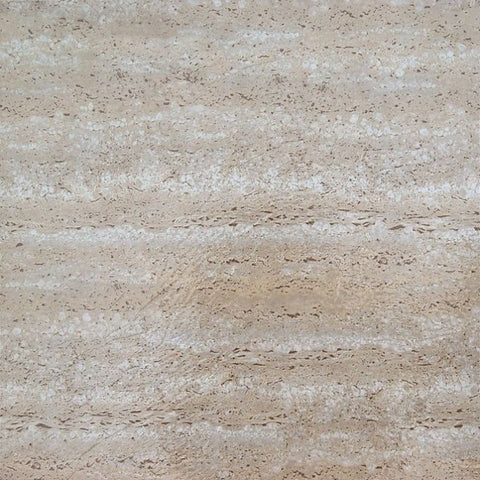 Achim Home Furnishings - Tivoli Travatine Marble 12x12 Self Adhesive Vinyl Floor Tile - 45 Tiles/45 sq. ft.
