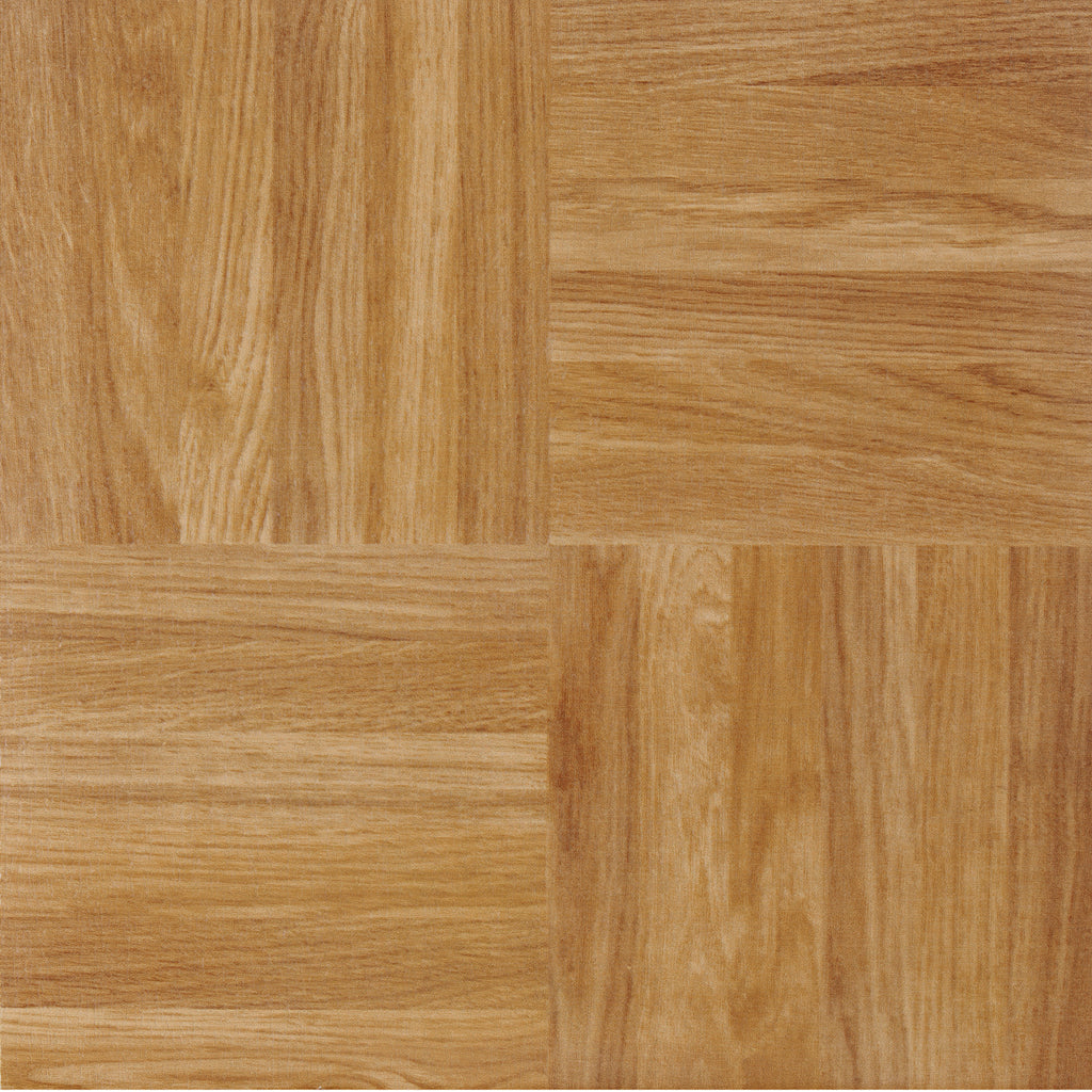 Achim Home Furnishings - Nexus Oak Parquet 12x12 Self Adhesive Vinyl Floor Tile - 20 Tiles/20 sq. ft.