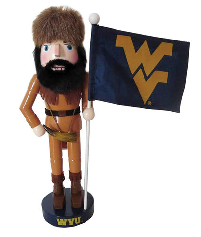Santa's Workshop WVM092 Wvm Mascot & flag Nutcracker, 12""