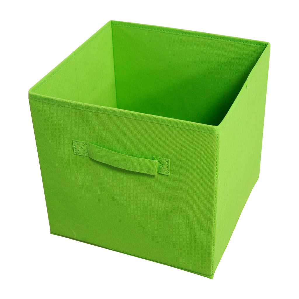 Achim Home Furnishings - Collapsible Storage Bins - Green - 4 Bins Per Pack