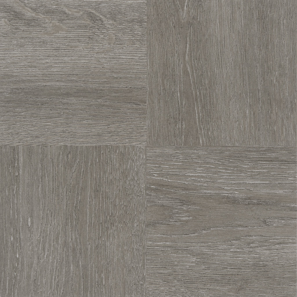 Achim Home Furnishings - Tivoli Charcoal Grey Wood 12x12 Self Adhesive Vinyl Floor Tile - 45 Tiles/45 sq. ft.