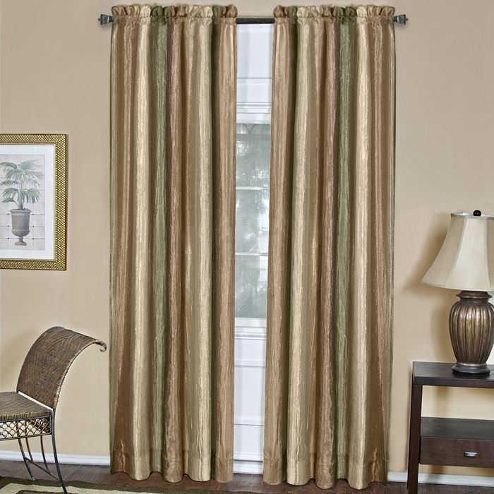 "Achim Home Furnishings - Ombre Window Curtain Panel 50"" x 84"" - Earth"