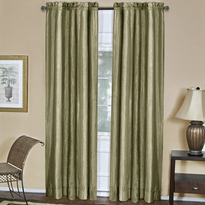 "Achim Home Furnishings - Ombre Window Curtain Panel 50"" x 84"" - Sage"