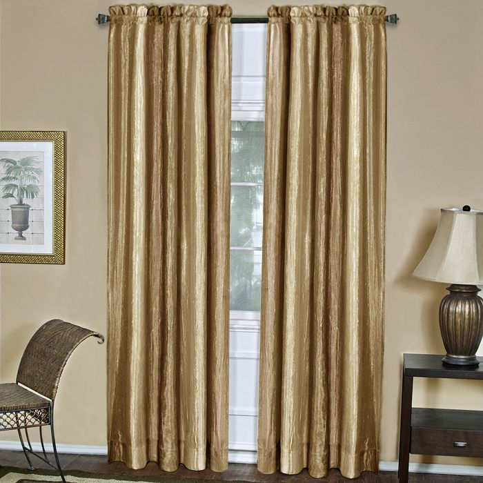 "Achim Home Furnishings - Ombre Window Curtain Panel 50"" x 63"" - Sandstone"