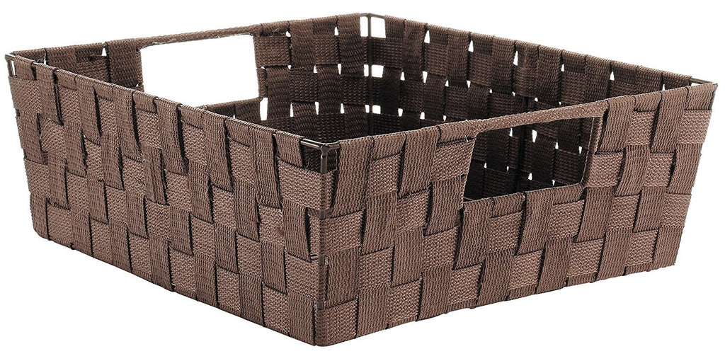 ... Naturally Home   Durable Closet Storage/Organization Unit Woven Strap  Shelf 15 X 13 X ...