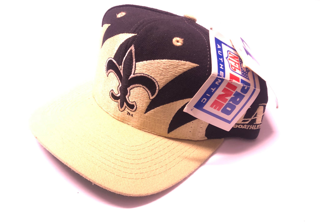 New Orleans Saints Logo Athletic Sharktooth - startersnaps