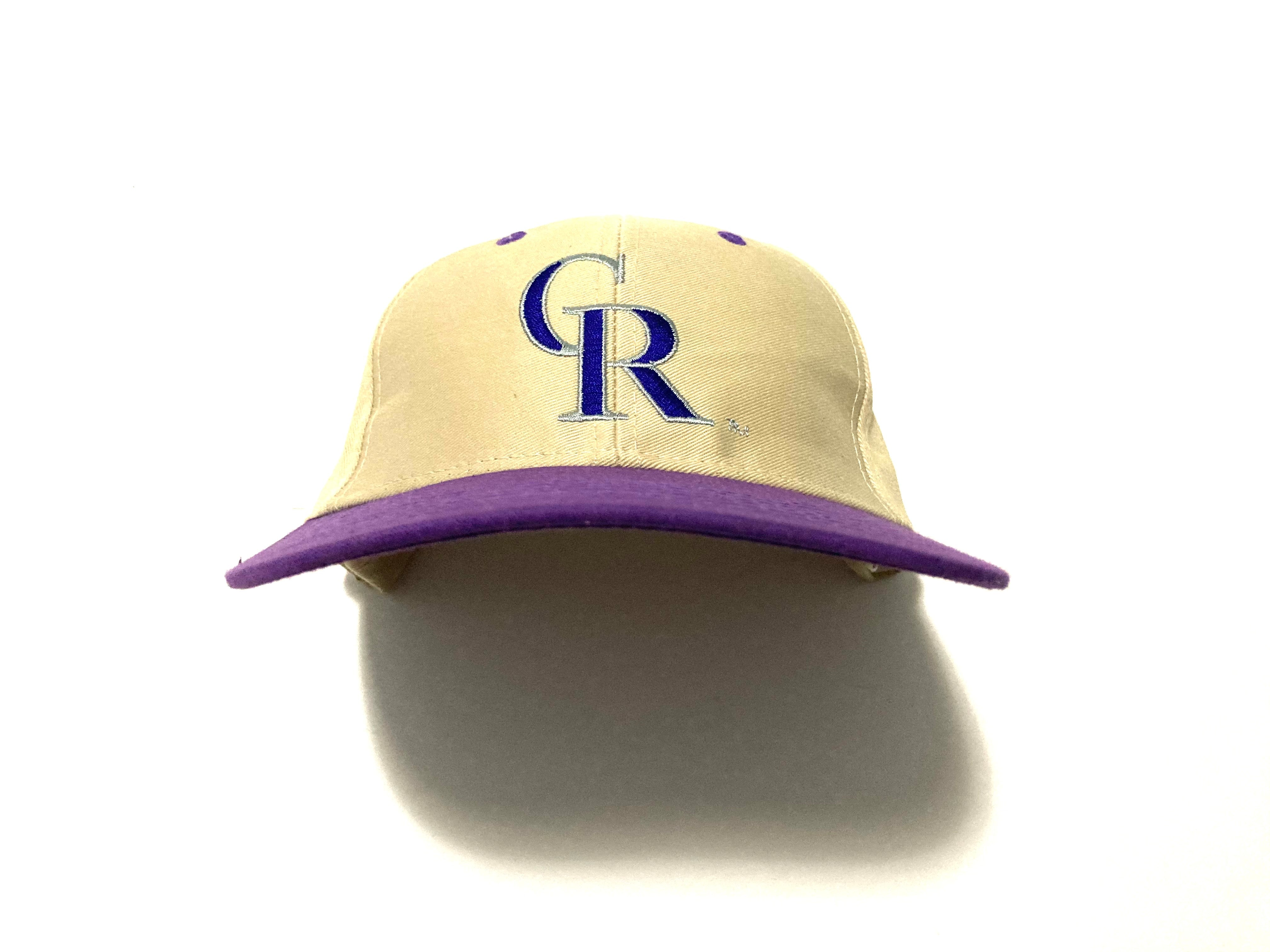 Colorado Rockies Plain Logo Snapback By Fantastic Sports Merchandise