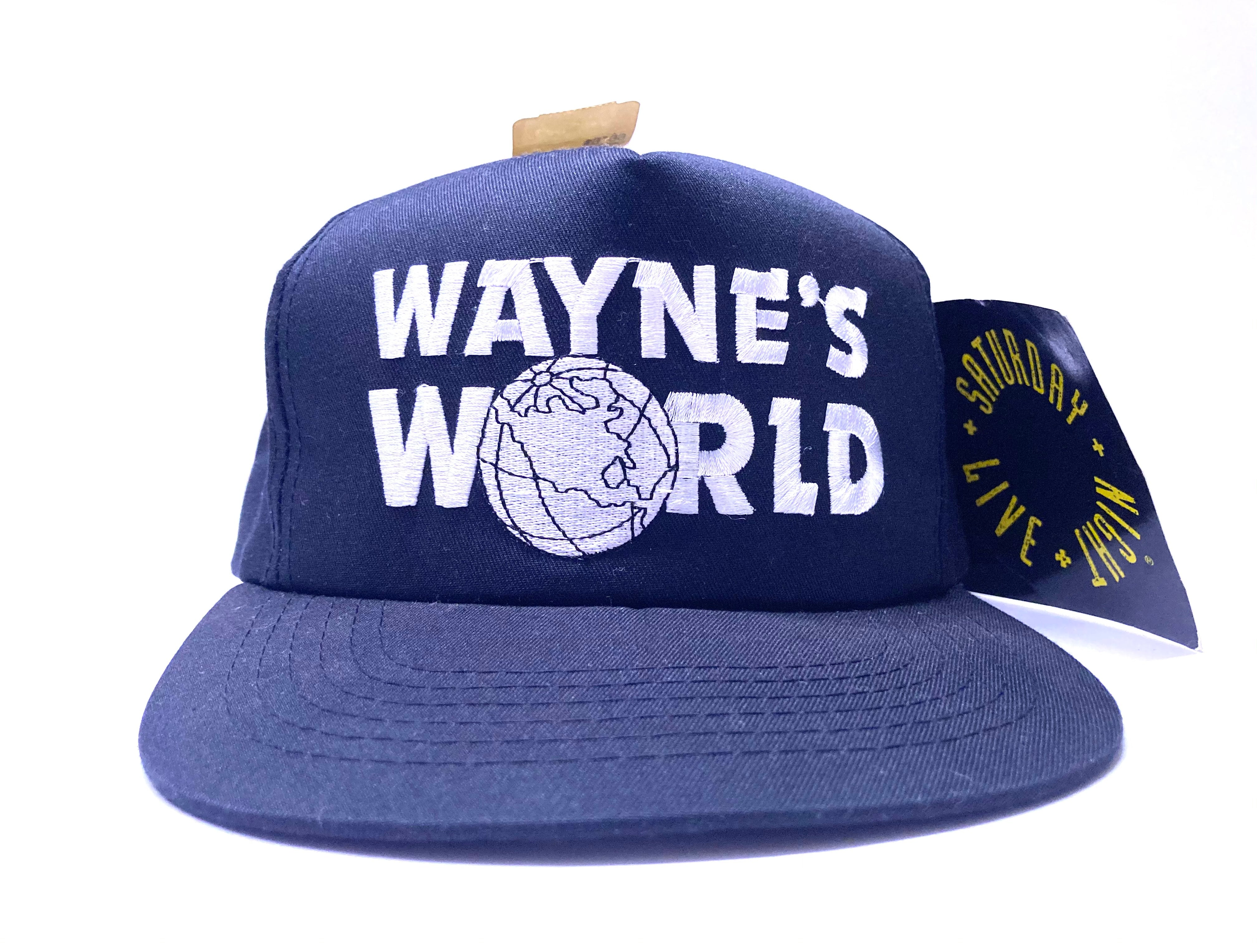 Wayne's World Vintage Snapback By Youngan Brand New