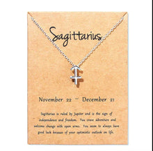 Load image into Gallery viewer, Collier - Les 12 signes astrologiques