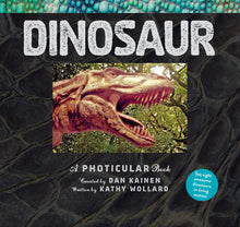 Load image into Gallery viewer, Dinosaur: A Photicular Book