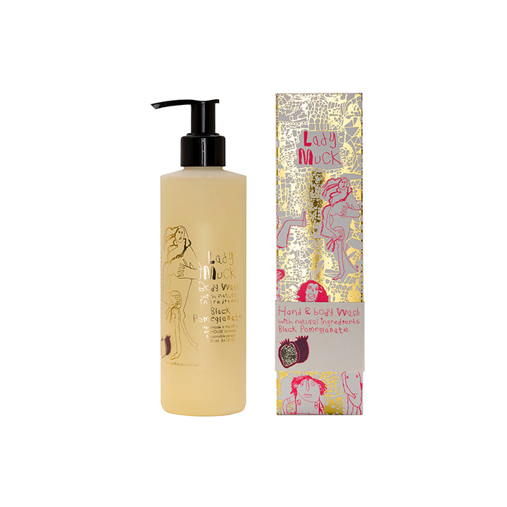 Lady Muck Design Hand and Body Wash with Black Pomegranate