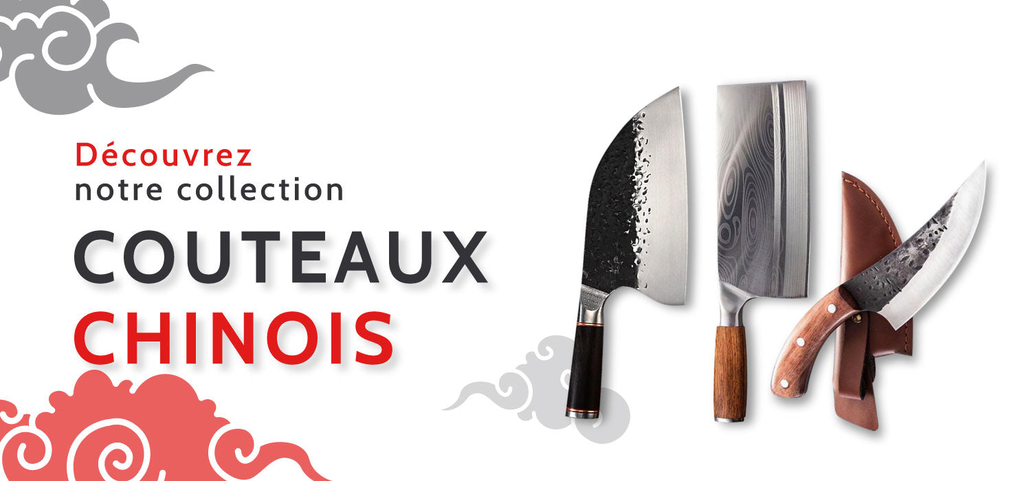 Collection couteaux chinois