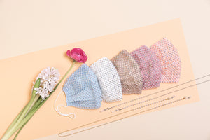 HELLO SPRING: BABY BLUE FASHION MASK