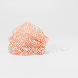 HELLO SPRING: CORAL FASHION MASK
