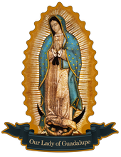 Load image into Gallery viewer, Our Lady of Guadalupe Decal