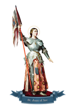 Load image into Gallery viewer, St. Joan of Arc Decal