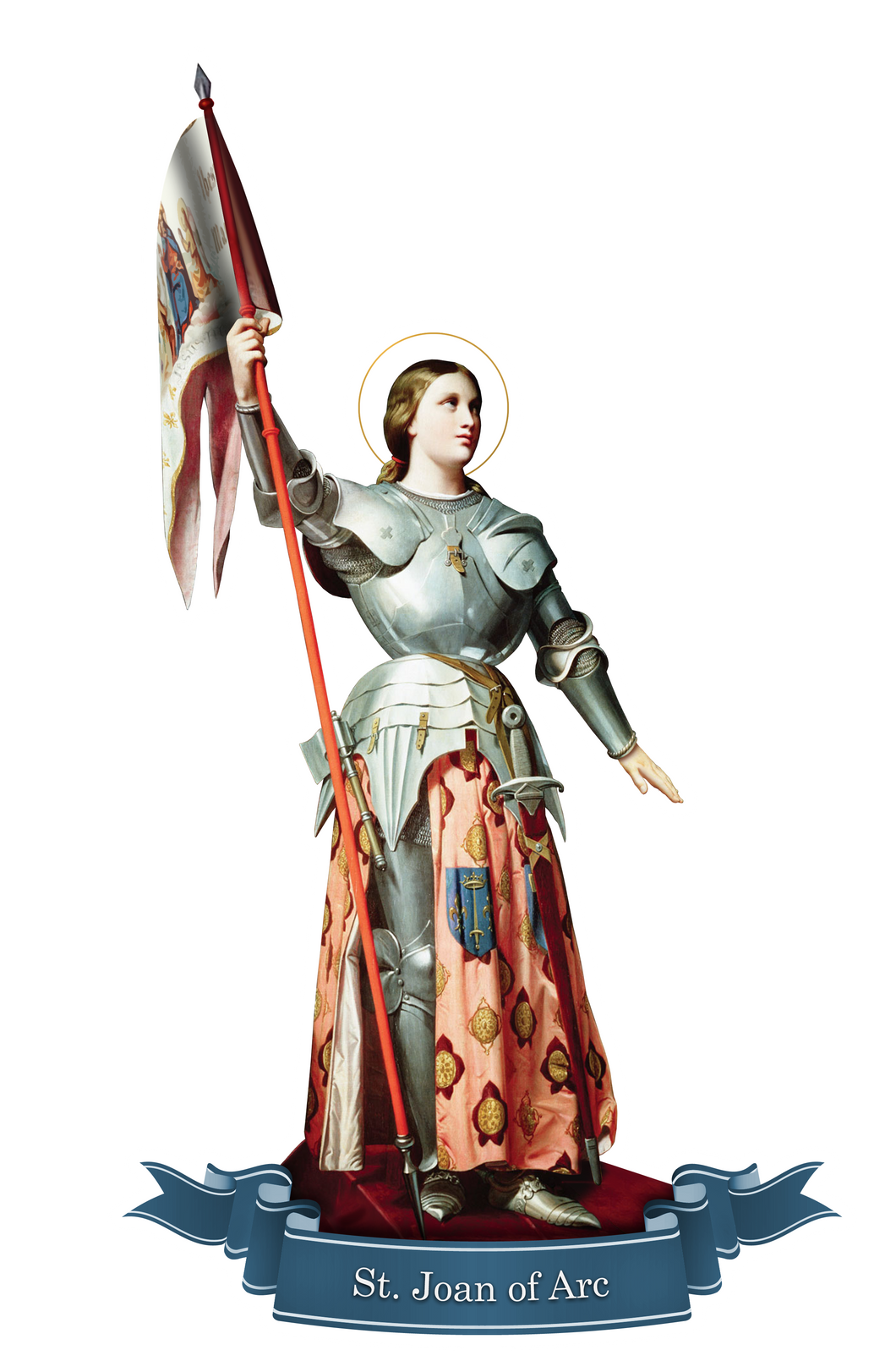 St. Joan of Arc Decal