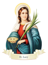 Load image into Gallery viewer, St. Lucy Decal