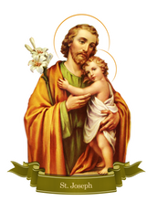 Load image into Gallery viewer, St. Joseph Decal